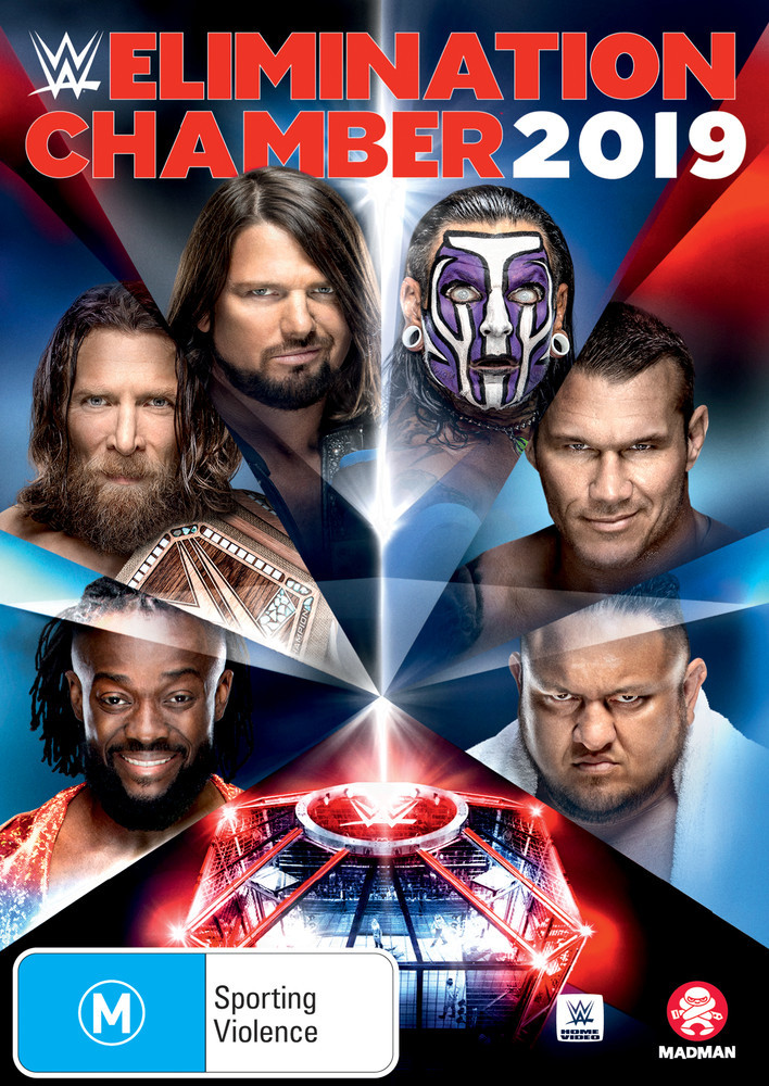 WWE: Elimination Chamber 2019 on DVD image