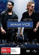 Miami Vice  on DVD