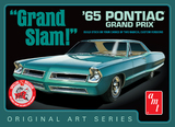 AMT: 1/25 1965 Pontiac Grand Prix Grand Slam (White Mould) - Model Kit