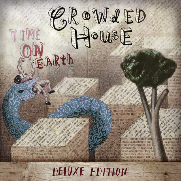 Time On Earth (Deluxe Edition 2LP) by Crowded House