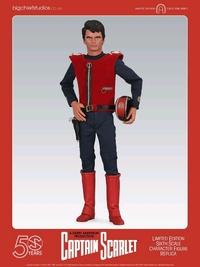 "Captain Scarlet - 12"" Articulated Figure"