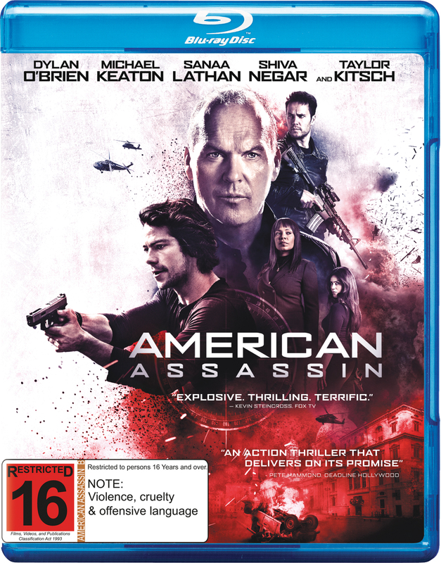 American Assassin on Blu-ray