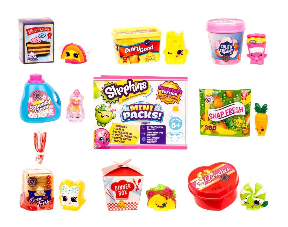 Shopkins: Minis - Shopper Pack (Assorted Designs) image