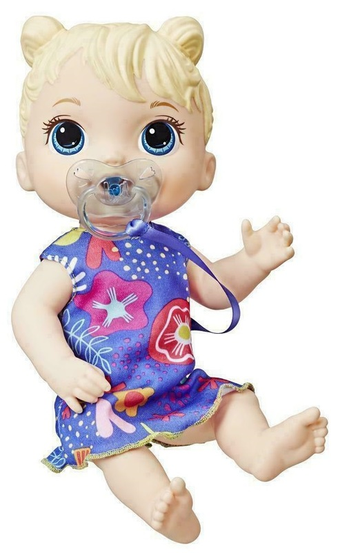 Baby Alive: Baby Lil Sounds - Interactive Baby Doll (Blond)