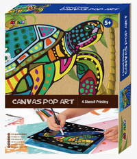 Avenir: Canvas Pop Art Kit - Turtle