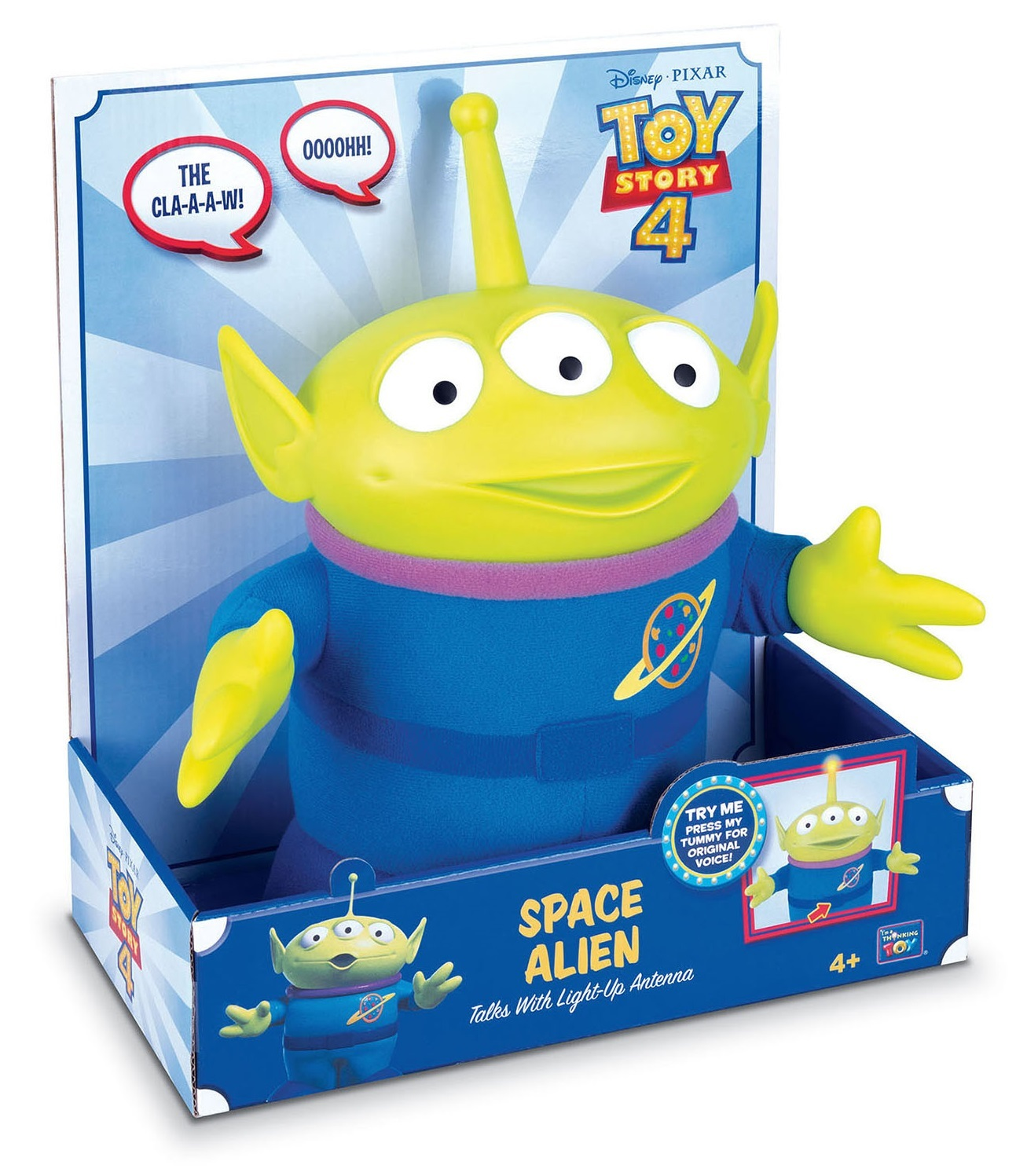 """Toy Story 4: Alien - 10.5"""" Deluxe Talking Figure image"""