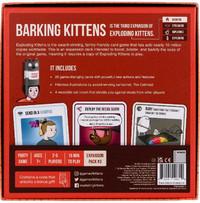 Exploding Kittens: Barking Kittens - Expansion Pack image