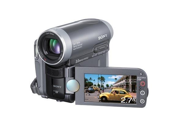 Sony Handycam MiniDV 3MP W/Wide LCD DCRHC90E