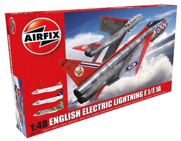 Airfix English Electric Lightning F.1/F.1A 1:48 Model Kit