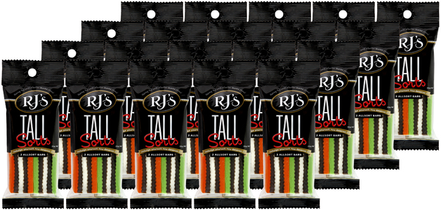 RJ's Licorice Tallsorts (70g)