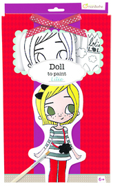 Doll to Paint - Lilie