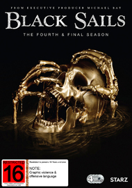 Black Sails - The Fourth & Final Season on DVD