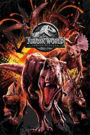 Jurassic World Kingdom Montage Maxi Poster (790)