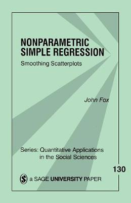 Nonparametric Simple Regression by John Fox