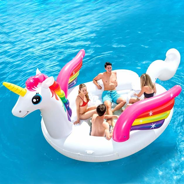 Intex: Unicorn Party Island