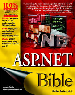 ASP.NET Bible by Anju Sani image