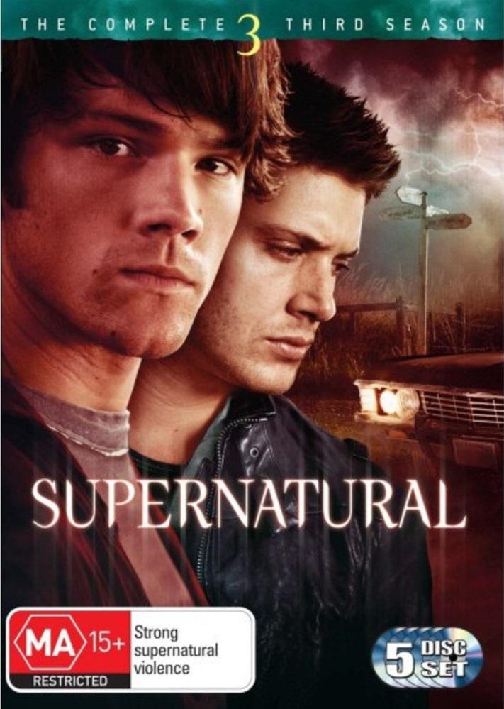 Supernatural - The Complete 3rd Season (5 Disc Set) DVD image