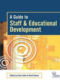 A Guide to Staff & Educational Development image