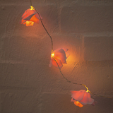 Roses String Lights Garland - Light Pink