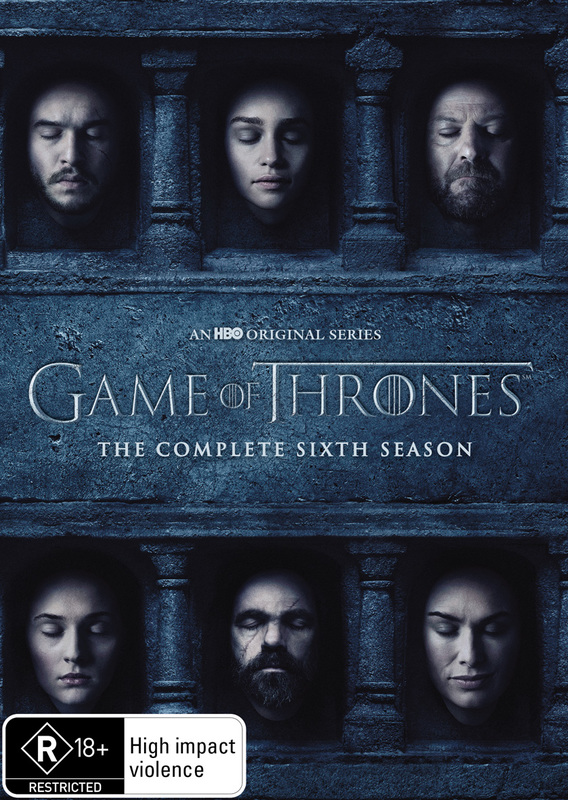 Game of Thrones - The Complete Season Six on DVD