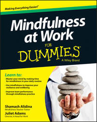 Mindfulness at Work For Dummies by Shamash Alidina