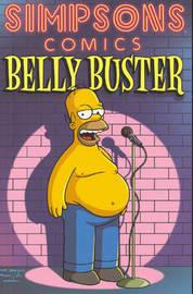 Simpsons Comics Belly Buster by Matt Groening