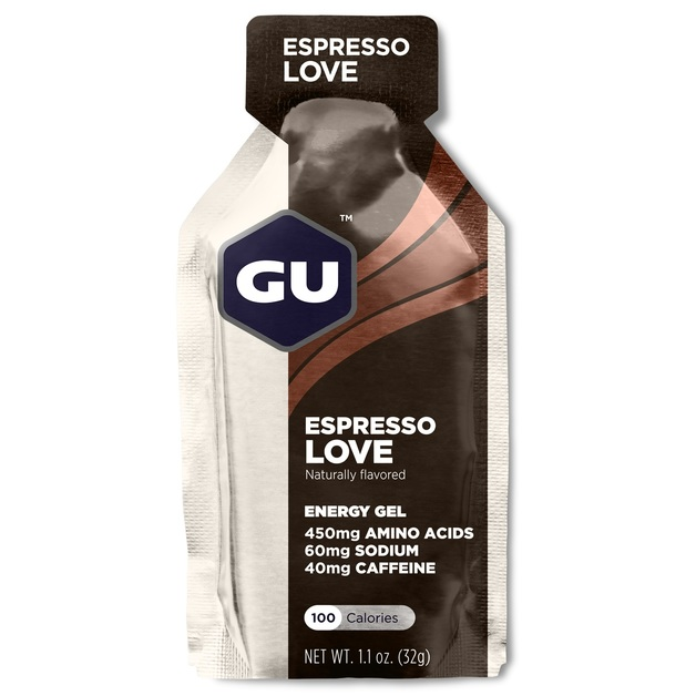 GU Energy Gel - Espresso Love (32g) Single Serve