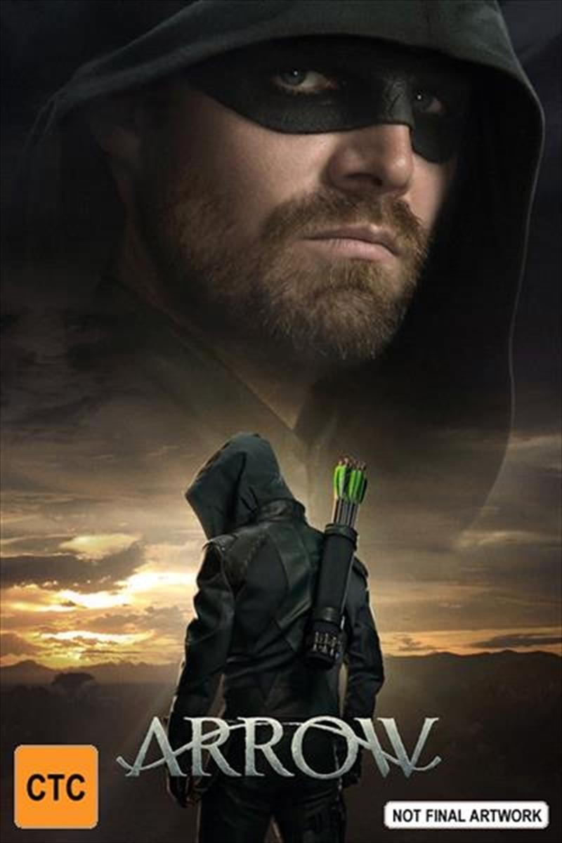 Arrow: The Eighth Season on DVD image