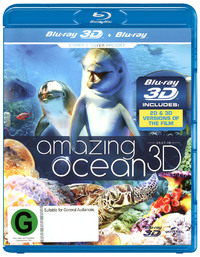 Amazing Ocean on Blu-ray, 3D Blu-ray