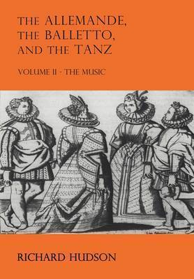 The Allemande and the Tanz by Richard Hudson