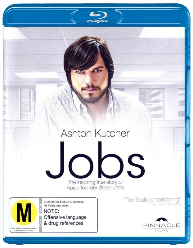Jobs on Blu-ray