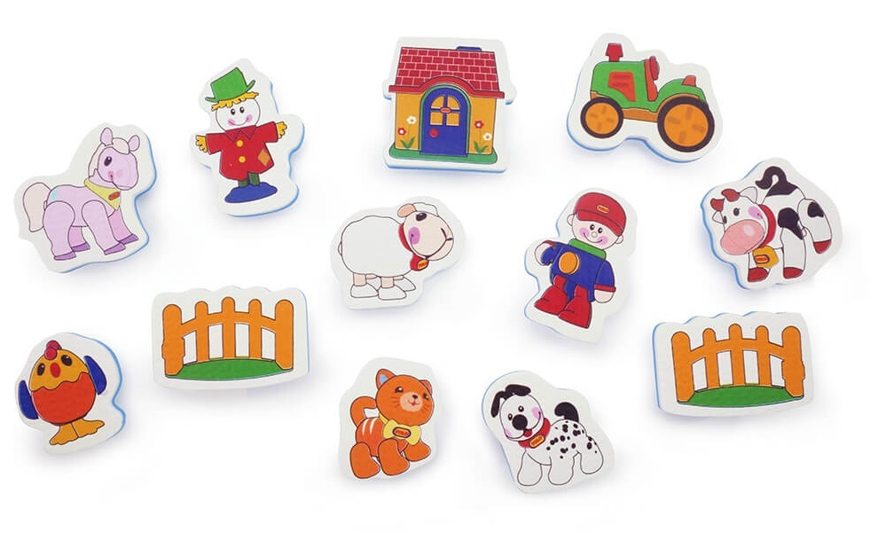 Tolo Toys: Farm - Bath Sticker Set image