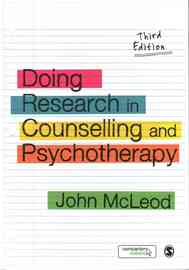 Doing Research in Counselling and Psychotherapy by John McLeod