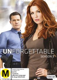 Unforgettable - Season 3 on DVD image