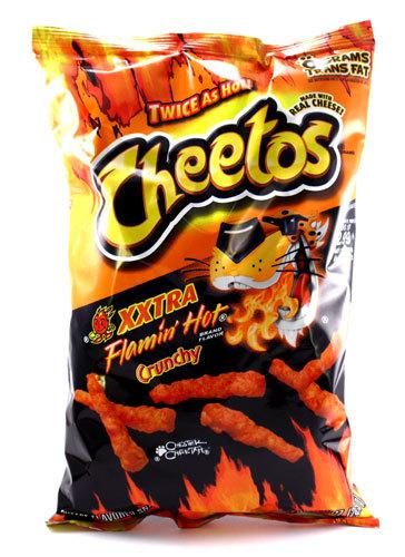 Cheetos Xxtra Flamin' Hot 88.5g image