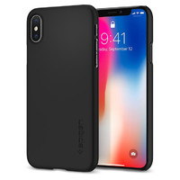 Spigen iPhone X/XS Thin Fit Case Black