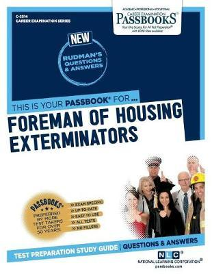 Foreman of Housing Exterminators by National Learning Corporation