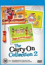 Carry On - Collection 2 (3 Disc Box Set) on DVD