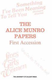 Alice Munro Papers image