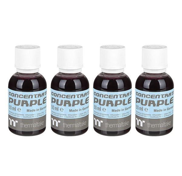 Thermaltake: Premium Contentrate Coolant - Purple (50ml) 4 Pack