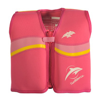 Konfidence Original Buoyancy Jacket - Pink/Yellow (4-5 Years)