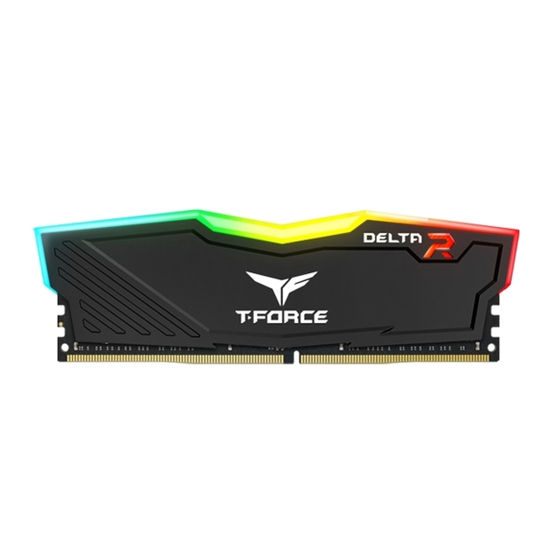 2 x 4GB Team T-Force Delta II DDR4 2666MHz RGB Gaming RAM - Black