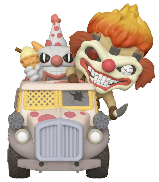 Twisted Metal: Sweet Tooth & Ice Cream Truck - Pop! Ride Figure