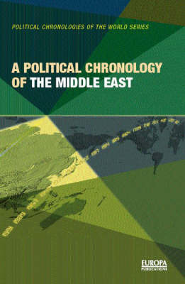 A Political Chronology of the Middle East by Europa Publications image