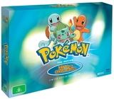 Pokemon Adventures in Kanto and the Orange Islands Collector's Box Set on DVD