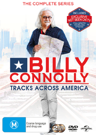 Billy Connolly - Tracks Across America on DVD