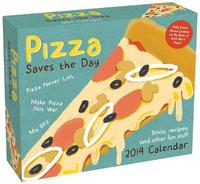 Pizza Saves the Day 2019 Day-to-Day Calendar by Andrews McMeel Publishing
