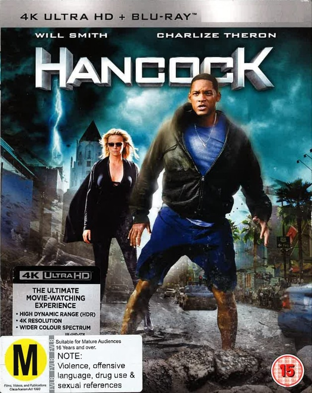Hancock on Blu-ray, UHD Blu-ray