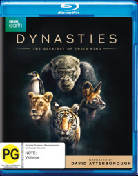 Dynasties on Blu-ray