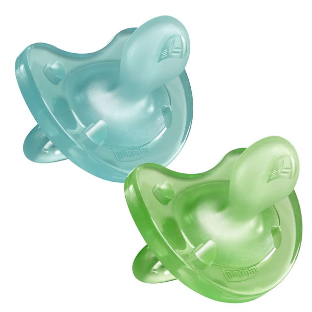 Chicco: Physio Soft Soother - 12m+ 2 Pack (Boy)